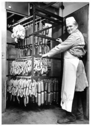 Vintage Sausage Making - Otto's Sausage Kitchen